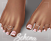 ṩ| French Pedicure by Sohona